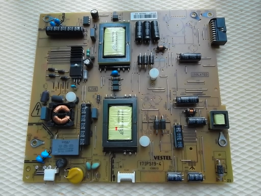 Power Board Smpspsu 17pw25 4 Circuit Diagram 17ips19 4vestel Empty